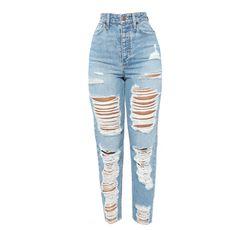 Jammin' On Boyfriend Jeans – Light Wash – fashion nova dress Grey Pants Outfit, Denim Outfit For Women, Best Jeans For Women, Pants For Women, Light Blue Ripped Jeans, Cute Ripped Jeans, Jeans Skinny, Boyfriend Jeans, Pantalones Boyfriend
