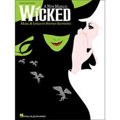 Shop and Buy Wicked - Easy Piano sheet music. Piano, Vocal sheet music book by Stephen Schwartz: Hal Leonard at Sheet Music Plus: The World Largest Selection of Sheet Music. Wicked Musical, Wicked Book, Wicked Witch, Musical Theatre, Theatre Geek, Elphaba And Glinda, Stephen Schwartz, Easy Piano Sheet Music, Musicals Broadway