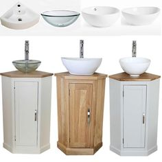 Details about Bathroom Vanity Corner Unit Sink Vanity Unit, Corner Bathroom Vanity, Bathroom Sink Cabinets, Glass Vanity, Bathroom Basin, Vanity Units, Painted Bathroom Vanities, Spa Bathrooms, Corner Sink Unit