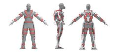 A.F.A.-Powered Exoskeleton Suit for Firefighter on Behance