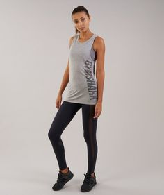 a885f675364a24 Gymshark Motion Vest - Light Grey Marl Workout Tops, Unique Logo, Active  Wear,