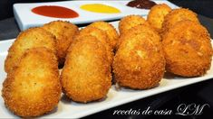 NUGGETS DE CALABACIN O ZAPALLO ITALIANO Slice Of Bread, Easy Healthy Recipes, Cornbread, Side Dishes, Food And Drink, Stuffed Peppers, Meals, Vegetables, Cooking