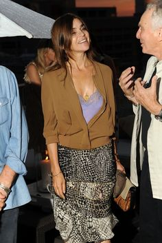 Carine Roitfeld at the David Yurman event.