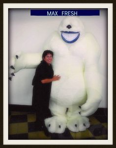 http://pinterest.com/arcogroup/boards/ #MAXFRESH #botargas #yeti #mascot #costumacharactes