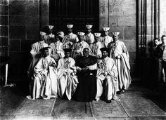 Grupo de cabaleiros de Santiago | Group of knights of Santiago