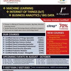 Rapidstart has been the leader and pioneer in technology based training and certification programs in Business Analytics Cloud Computing Big Data and Internet of Things. We focus on providing participants with real life industrial training and application based on Open Source Technologies. #IoT #internetofthings #bigdata #businessanalytics #cloudcomputing #training #certifications #hadoop #ict #ictprofessional #smartnation #datascience #predictivemodelling #rapidminer #machinelearning…