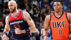 Marcin Gortat y Russell Westbrook elegidos Jugadores de la Semana de la NBA