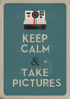 Gardez votre calme et de prendre des photos par Agadart sur Etsy