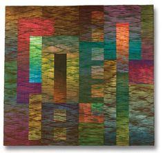 "November 2009""MOOG"" by Jan Myers-Newbury ,  using tie dyed fabrics.   Gorgeous!!"