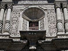 Iglesia de la compañia de Jesús de Arequipa -