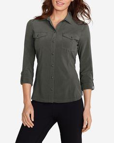 Women's Departure Long-sleeve Shirt | Eddie Bauer