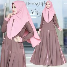 Vira Original by Humaira Hijab Abaya Fashion, Muslim Fashion, Women's Fashion Dresses, Black Abaya, Abaya Designs, Muslim Dress, Muslim Women, Modest Dresses, Blouses For Women
