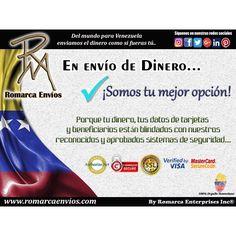 Nuestras tasas a las 4:00 p.m. $1709 - €1881 #RomarcaEnvios es tu mejor opción.  #EnvioDeDinero #VenezolanosEnElMundo
