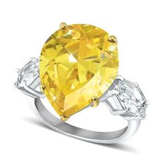 The Canary Centerstone Ring
