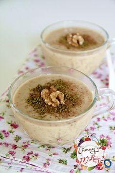 incir uyutması: süt, kuru incir, istenirse bal, ceviz, tarçın, Antep fıstığı