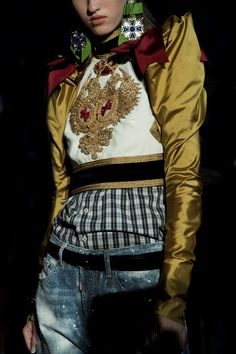Dsquared2 SS17 Milan womenswear backstage Dazed