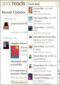 Goodreads- new fave website since whatshouldireadnext.com doesn't work anymore.