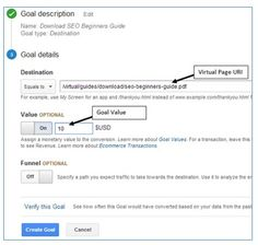 virtual pageview Types Of Goals, Google Analytics, Names, App, Apps