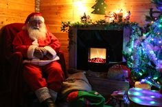 Santa Experience with Winter Wonderland Walkway & Elves Toyshop. Spring Barn Farm, near Lewes. Santa will be waiting by his cosy fire. www.springbarnfarm.com/farm-park/upcoming-events/christmas-on-the-farm/