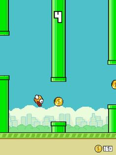 Flappy Timber Classic Mode in action