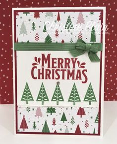 HAPPY HEART CARDS: THE HEART OF CHRISTMAS #3: STAMPIN' UP! MERRY MISTLETOE