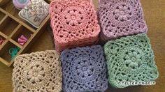 【編み図付き】玉編みのモチーフ | かぎ針編み・無料編み図 ATELIER *mati*
