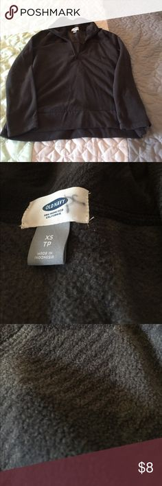 Old Navy XS black and gray half zip sweater Size XS, perfect for Fall coming up Old Navy Tops Sweatshirts & Hoodies