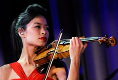 Vanessa Mae. Olympic athlete and professional violinist. Nice :)