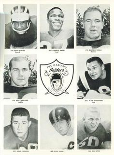 1960 Oakland Raiders