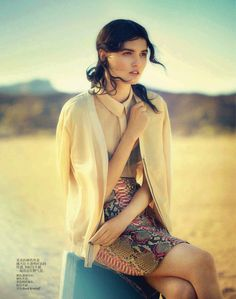 a desert moment: katlin aas by boo george for vogue china april 2013 | visual optimism; fashion editorials, shows, campaigns & more!