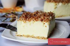 To ciasto mnie ciekawiło od dawna... Słyszałam już o nim kilka razy i w końcu wykonałam to słynne Ciasto Śnieżny Puch! Moja opinia w skrócie - rewelka :) Polish Recipes, Tiramisu, Sweet Tooth, Cheesecake, Gluten Free, Pudding, Sweets, Baking, Ethnic Recipes