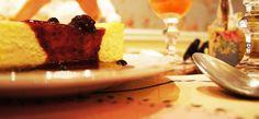 Cheesecake da Condimento doceria especializada em doces americanos - café da manhã e chá da tarde.
