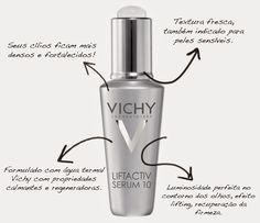 Beleza e etc..: Liftactiv Serum 10 Olhos e Cílios Vichy - Rejuvene...
