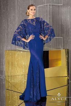 Bella Mera Bridal Boutique - Alyce Paris JDL - Jean De Lys 29633 - Chiffon - Lace with Capelet,   (http://www.bellamerabridal.com/alyce-paris-jdl-jean-de-lys-29633-chiffon-lace-with-capelet/)