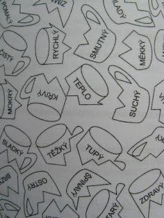 Školní hrátky: Slova opačná Montessori, Literacy, Language, Teaching, Activities, Writing, Education, School, Petra