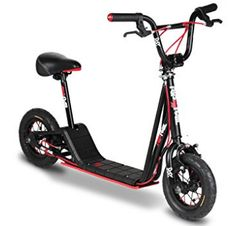 Hyper Rip Rail Scooter Electric Scooter with seats 20 Bmx Bike, Scooter Bike, Kids Scooter, Electric Scooter With Seat, Electric Bicycle, Bmx Brakes, Bmx Parts, Scooter Custom, Best Scooter