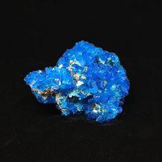 Blue Chalcanthite Druzy Gemstone Blue Druzy Healing