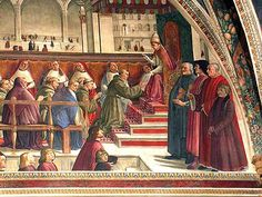 Ghirlandaio's Sassetti Chapel, SS Trinita, Florence