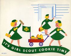 """The first cookie sales by an individual Scout unit was by the Mistletoe Troop in Muskogee, Oklahoma in December 1912. In 1922, the Girl Scout magazine The American Girl suggested cookie sales as a fund-raiser and provided recipes. In 1933, Girl Scouts in Philadelphia organized the first official sale, selling homemade cookies at the windows of local utility companies. The first Girl Scout cookie recipe was a sugar cookie. In 1936 the national organization began licensing commercial bakers"