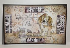 Time for Cake by Donna Ratcliff | That's Blogging Crafty!