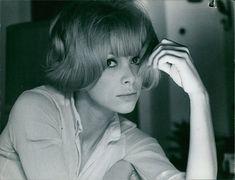 Vintage Photo of Close Up of Mireille Darc | eBay