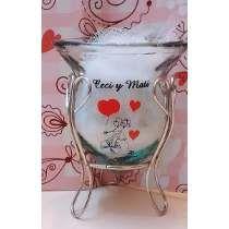 Souvenirs Mates De Vidrio Casamiento 15 Personalizados Tazas Cata, Amor, Wedding Stuff, Souvenirs, Glass, Invitations, Fiestas