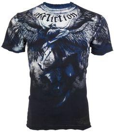 Archaic AFFLICTION Men T-Shirt TALL TALE Skulls Tattoo Biker MMA S-4XL $40 b