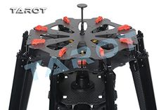Please note this is frame only all the electronic components are not included.  Product Description:  Tarot X8 is specially designed for professional aerial photography or FPV users. If one of the...