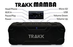 The Best Bluetooth #Speakers For The Home, Office Or Studio | Check the #TRAKKMAMBA Review... https://makeawebsitehub.com/best-bluetooth-speakers/