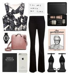 """""""gentlewoman"""" by jesicacecillia ❤ liked on Polyvore featuring Marc by Marc Jacobs, Frame Denim, Aesop, Yves Saint Laurent and Topshop"""