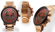 NXS Moto Swiss Chronograph Mens Watch