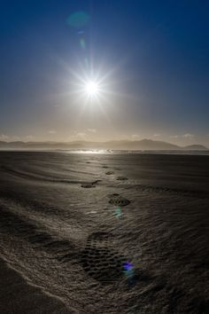 Tracks in the sand - Taken at Inch Beach , Dingle Peninsula, Ireland. Copyright © Matthias Meyer All rights reserved. My images may not be reproduced in any form without my written permission. Inch Beach, Without Me, My Images, Ireland, Track, Beautiful, Runway, Trucks, Running