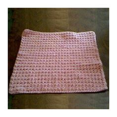 Thermal Stitch Preemie Afghan - A free Crochet pattern from Julie A Bolduc.