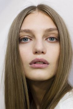 Backstage Beauty: Hair & Make-Up Spring Summer 2014 (Vogue.com UK)